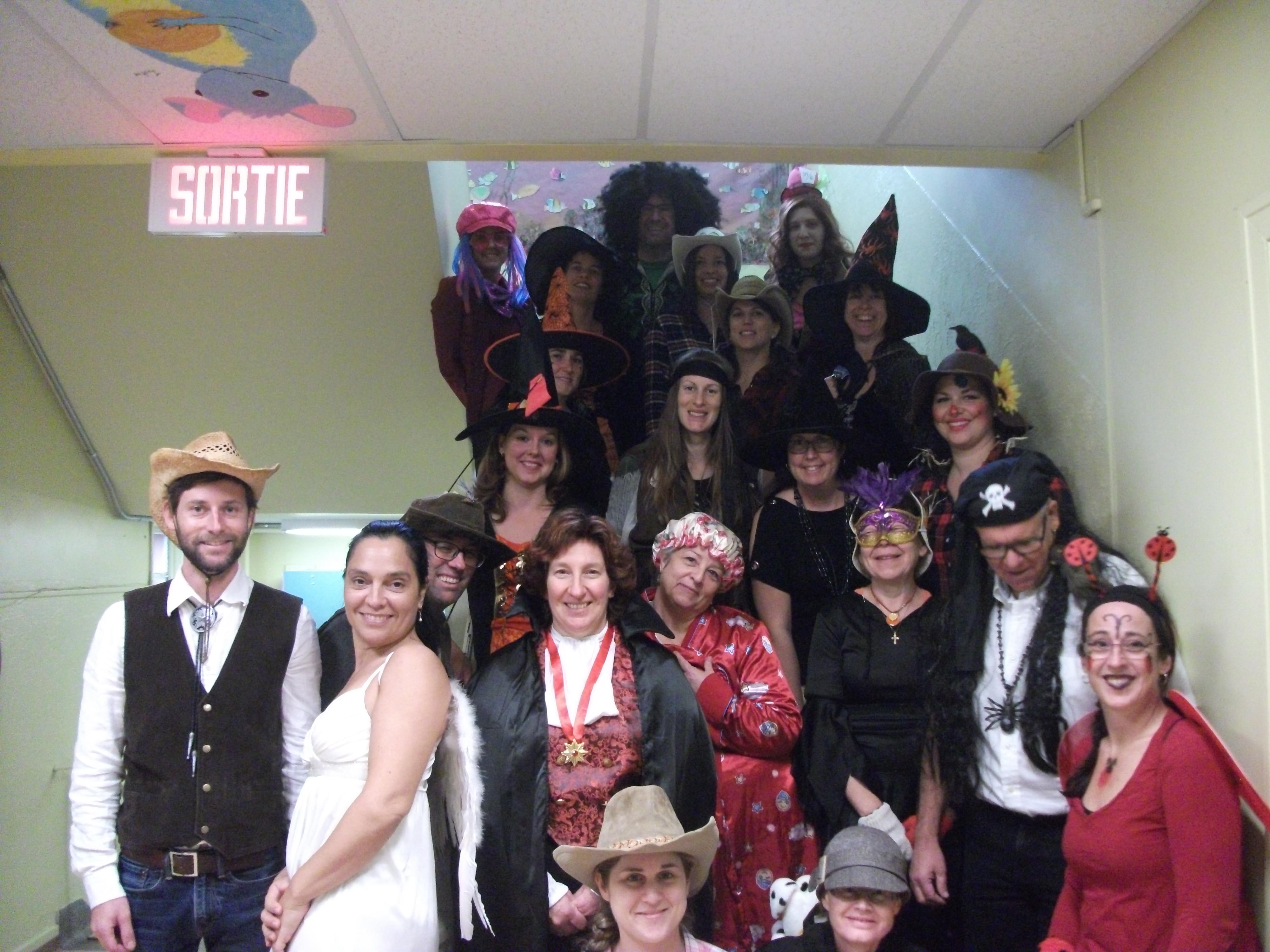 L'Halloween à l'école Saint-Léon