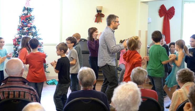 Spectacle de danse folklorique
