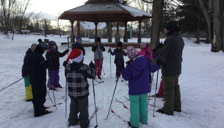Ski de fond au parc Davignon