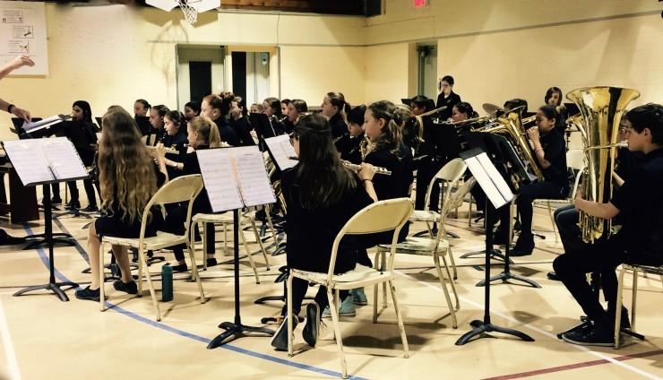 le concert desserts de l'Harmonie cadette St-Léon