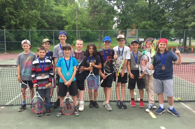 Mes premiers Jeux : Tournoi de Tennis